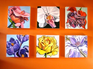 Flower Paintings by Barbara Harshman